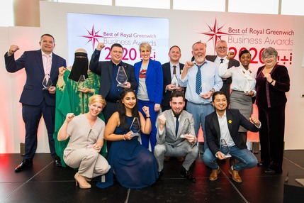 All winners at the Royal Greenwich Business Awards